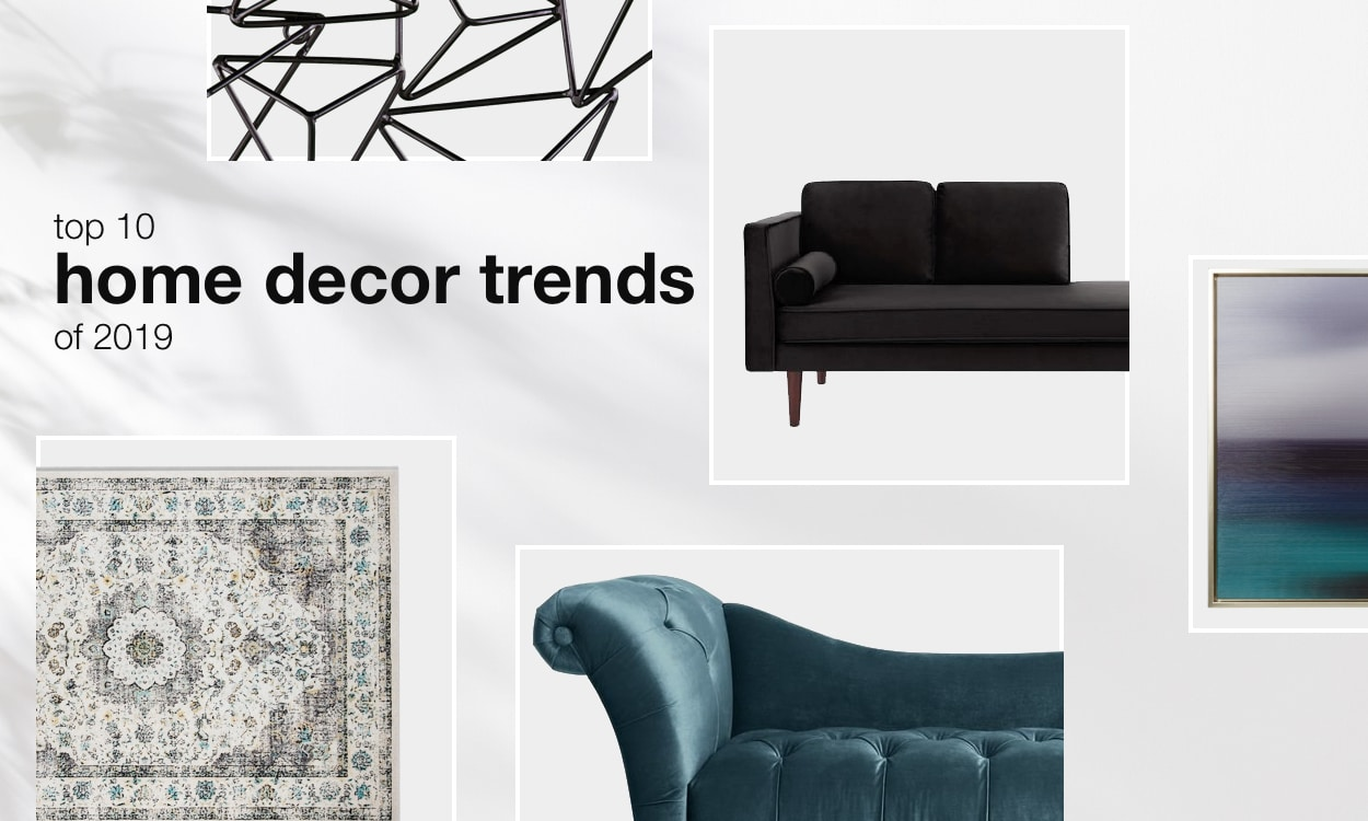Top 10 home decor trends of 2019