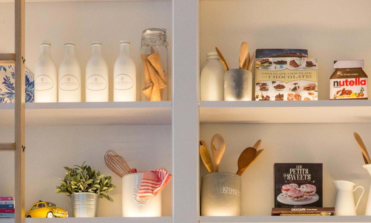 Accent Kitchen Lighting to Avoid That Glare
