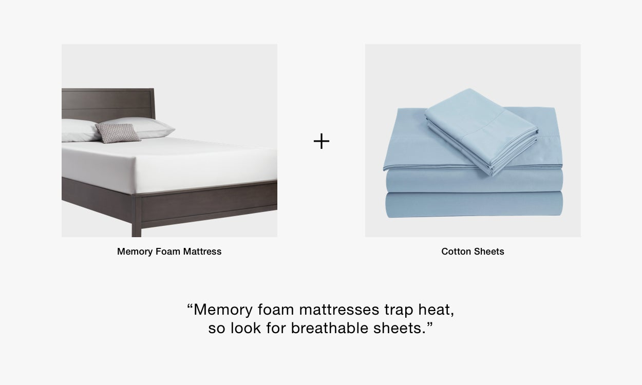 Best Sheets for Memory Foam Mattresses
