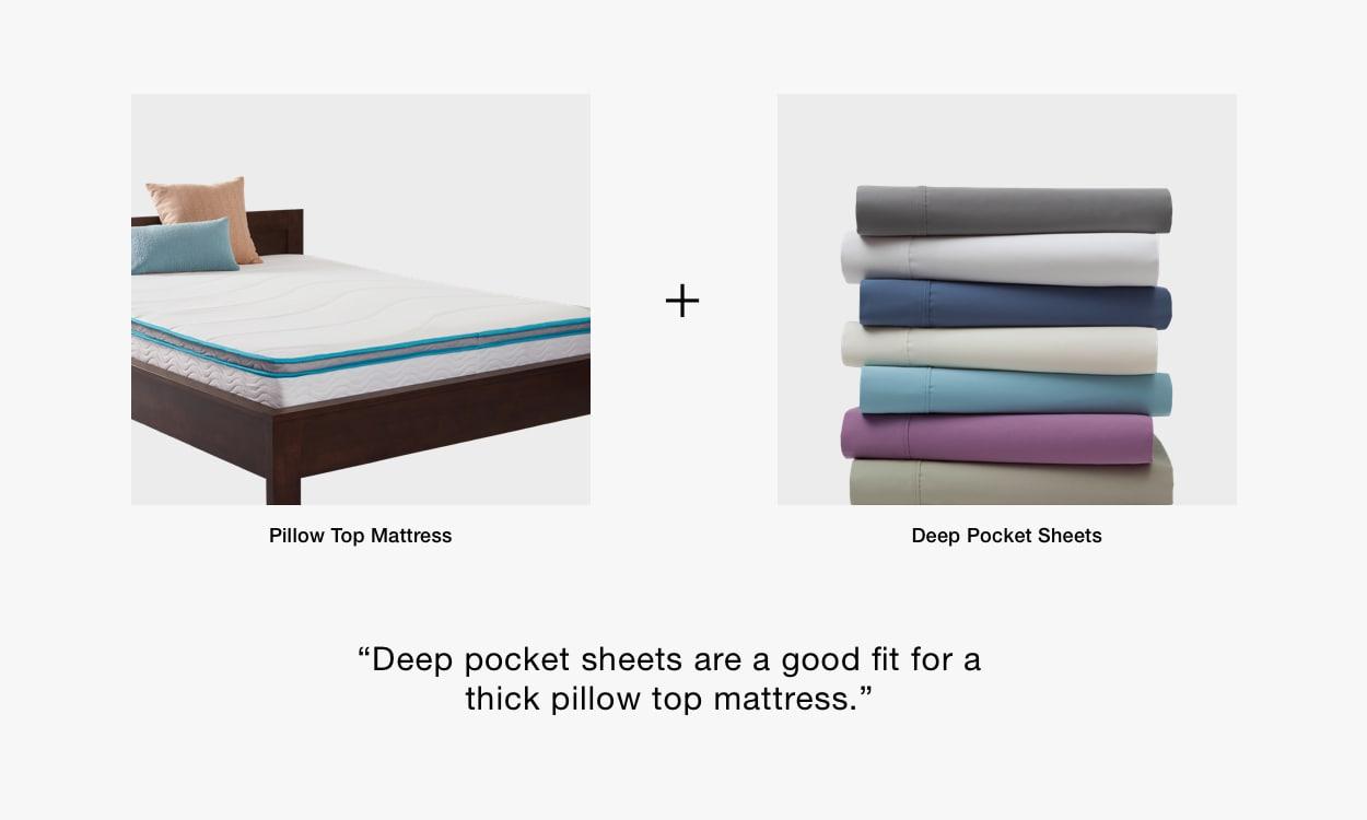Best Sheets for Pillow Top Mattresses