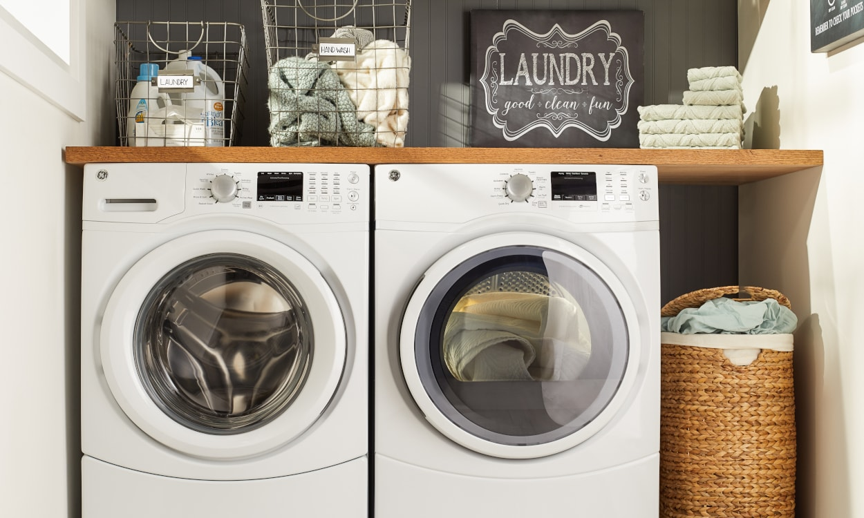 Cleaning options for bedding, washer and dryer. Bedding 101