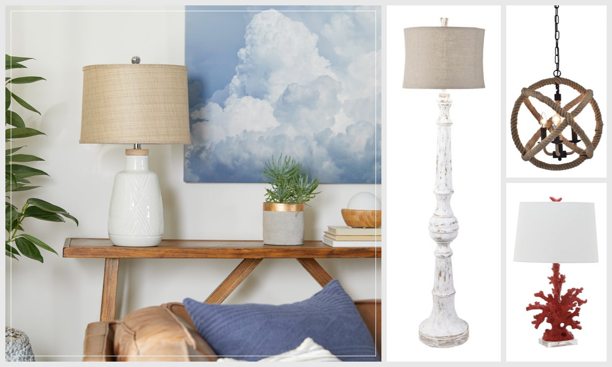 Coastal Lighting for a Nautical Retreat