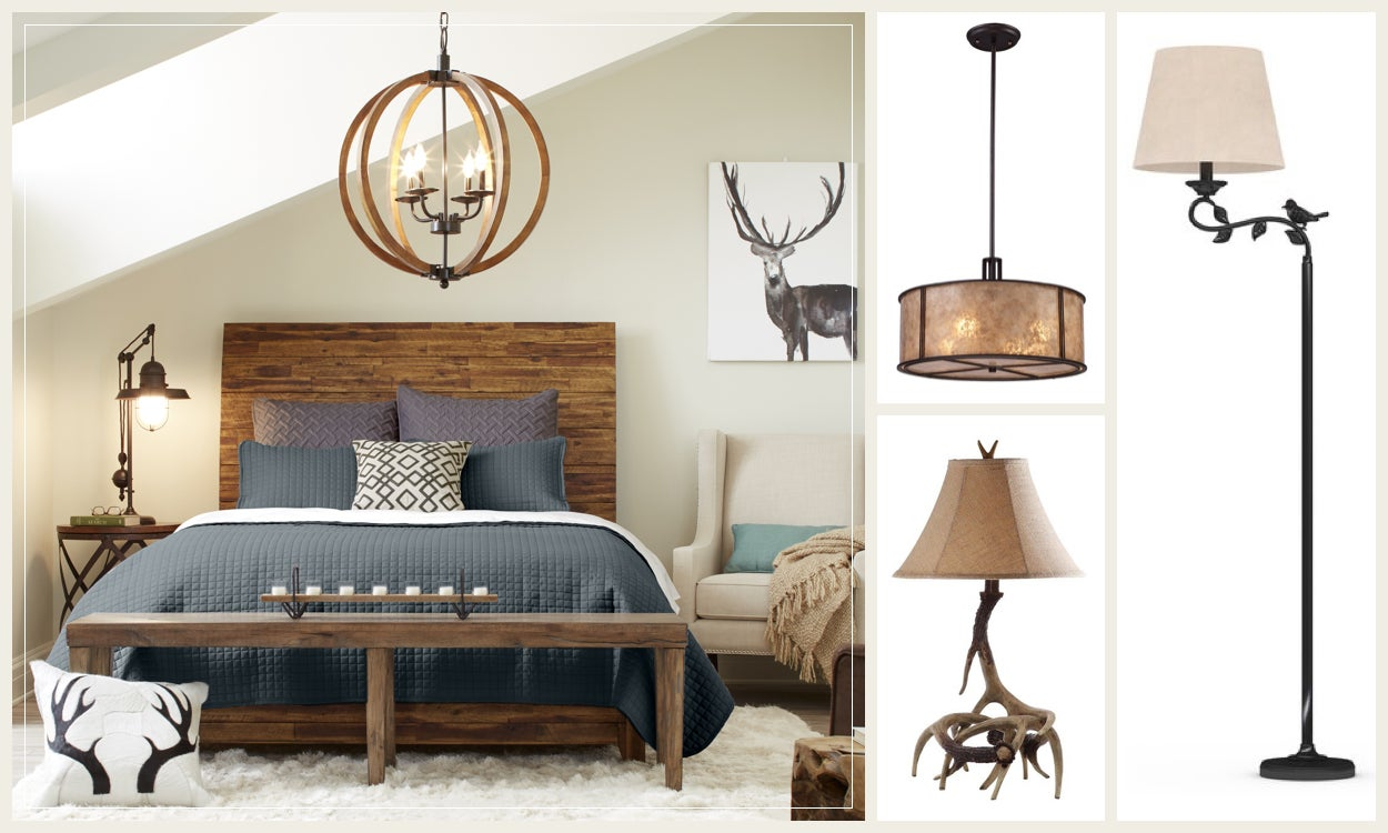 Rustic Lighting Fit for a Ski Lodge