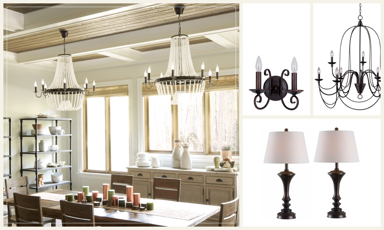 Traditional Lighting for a Regal Estate