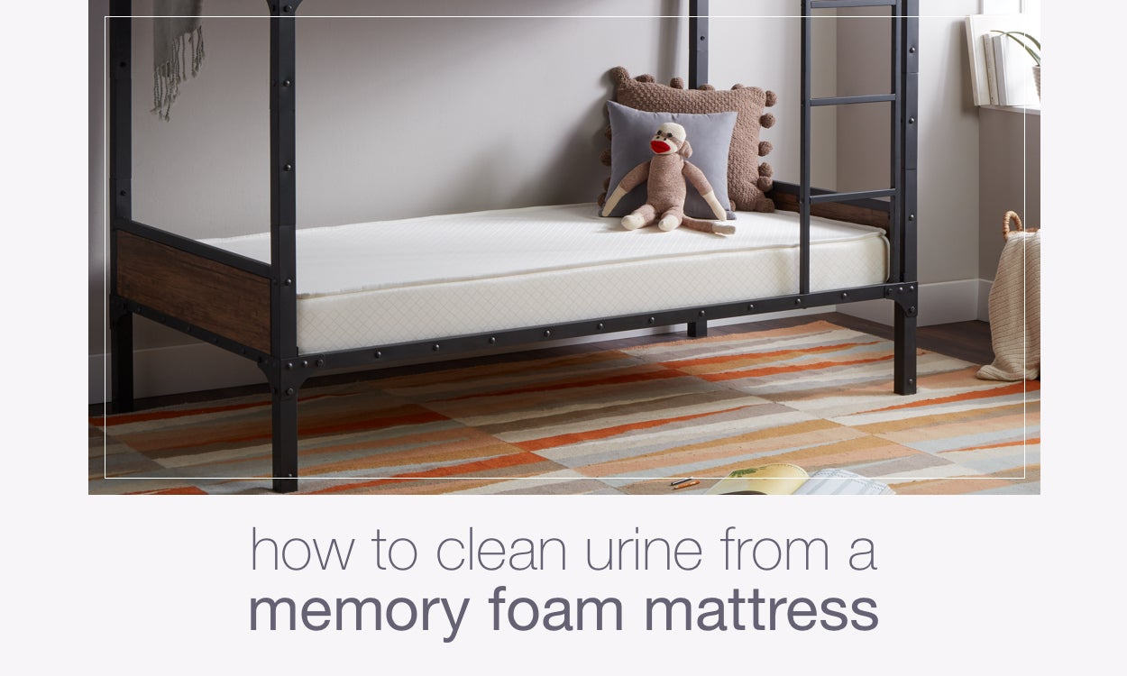 How To Clean Urine From A Memory Foam Mattress Overstock Com
