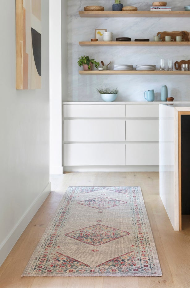 Kitchen Runner Rug and decor with a complimentary pattern and color palette - 5 Tips for Choosing the Perfect Kitchen Rug