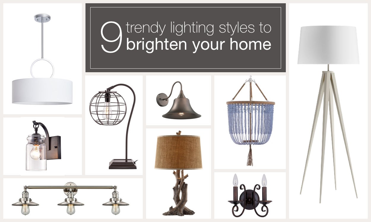9 Trendy Lighting Styles to Brighten Your Home