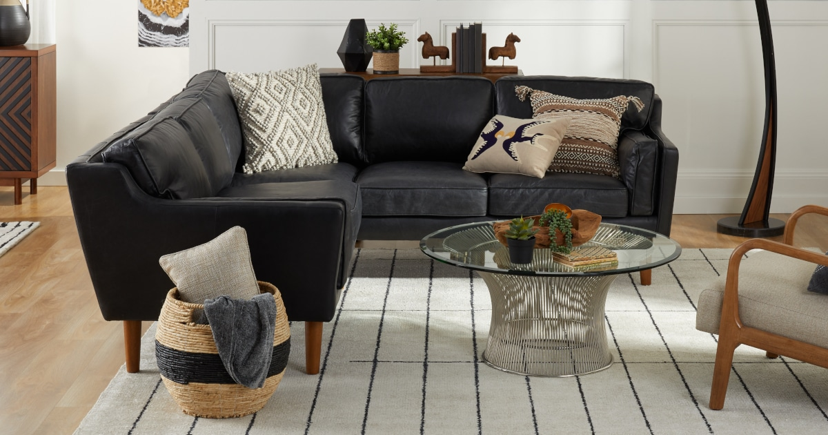 Decorating With Black Furniture In Your Living Room Overstock Com