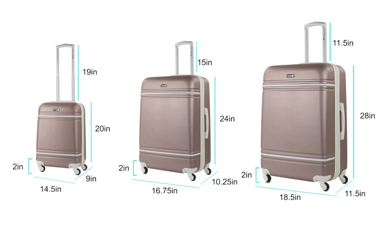 How to Choose Luggage Sizes When Flying - Overstock com Tips