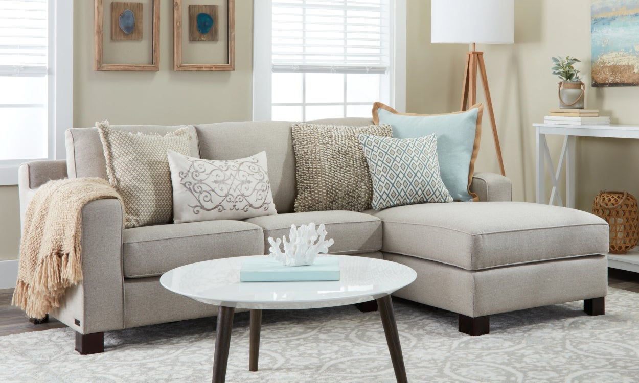 best service 6aa52 71771 Small Sectional Sofas & Couches for Small Spaces | Overstock.com