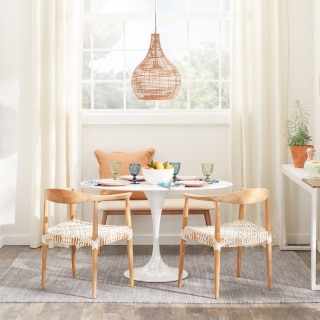 wicker chairs for kitchen table Best Small Kitchen Dining Tables Chairs For Small Spaces