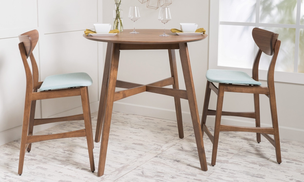 Best Small Kitchen & Dining Tables & Chairs for Small Spaces ...