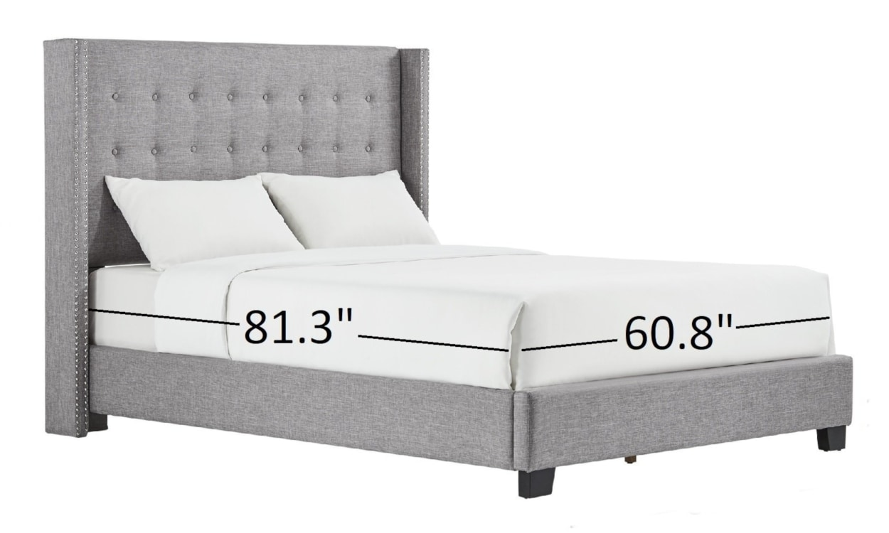 Queen Size Bed Dimensions.All Your Queen Size Bed Questions Answered Overstock Com