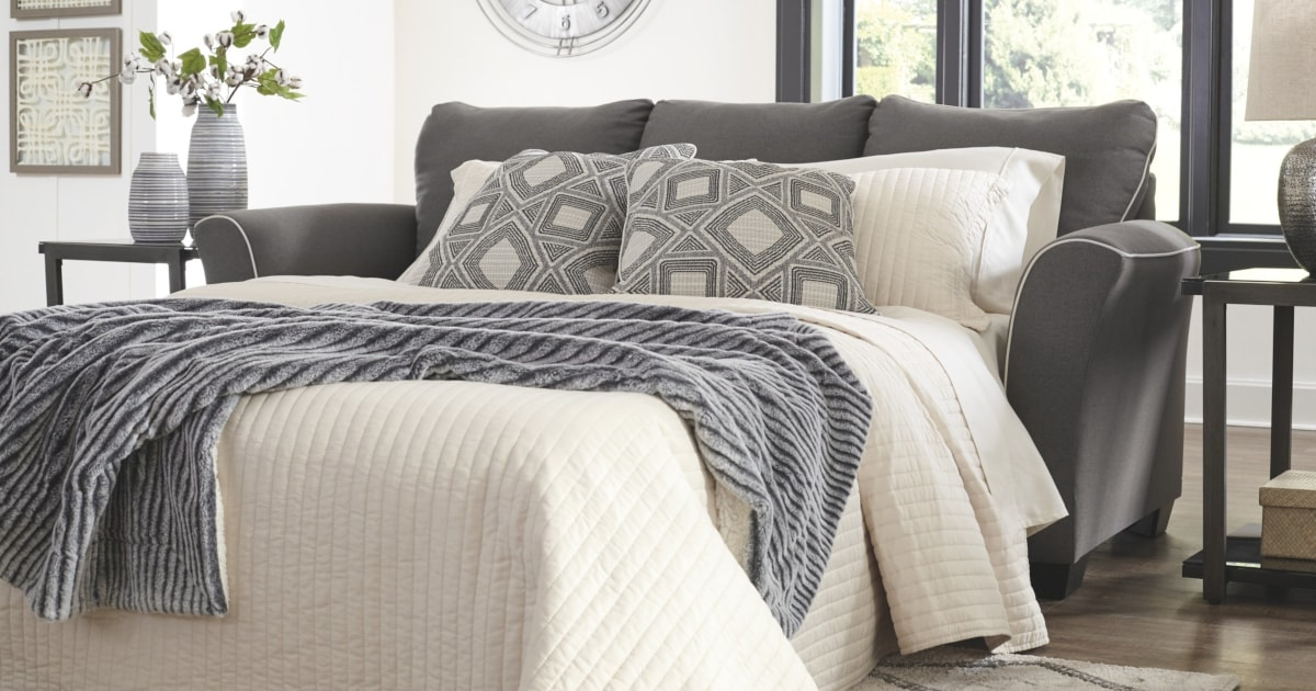 How to Make a Pull Out Sofa Bed More Comfortable | Overstock.com