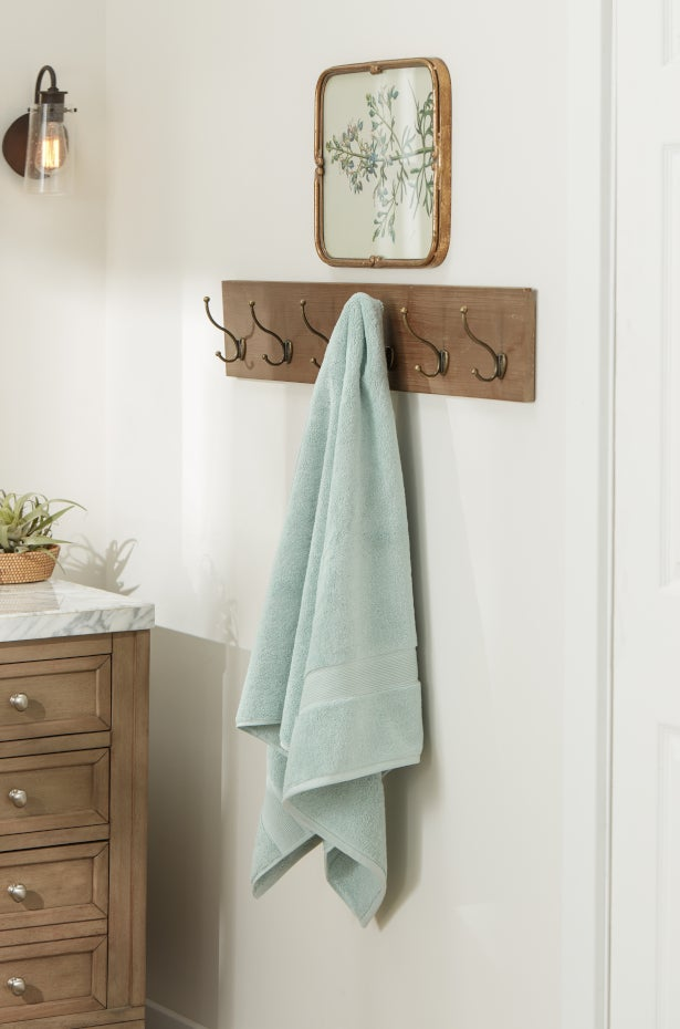 Install Extra Towel Racks