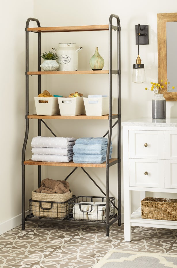 9 Small Bathroom Storage Ideas That Cut the Clutter | Overstock.com