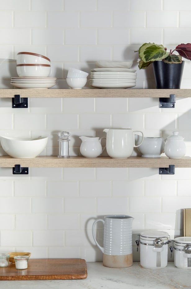Use Vertical Space to Hang Cooking Utensils