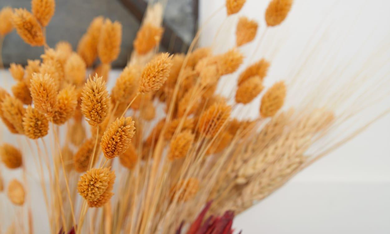 Floral Display Mantel