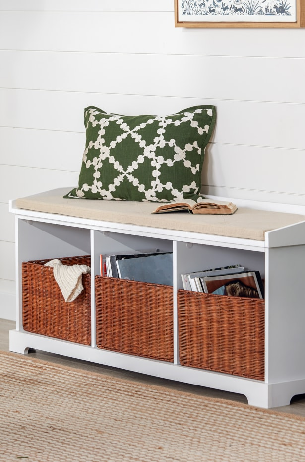 Use Dual-Purpose Furniture for Seating and Storage