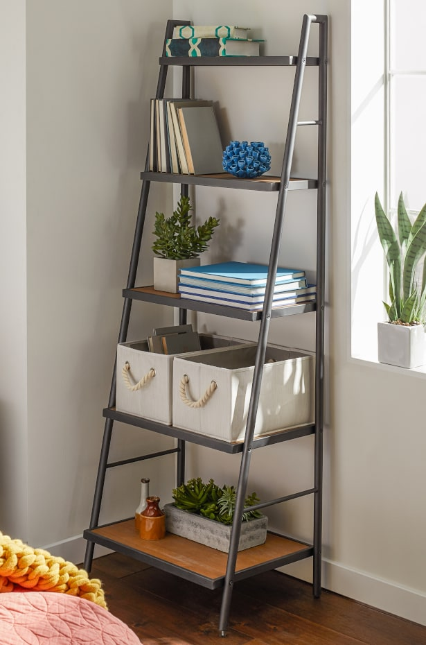 Use Vertical Storage to Shelve Dorm Decor