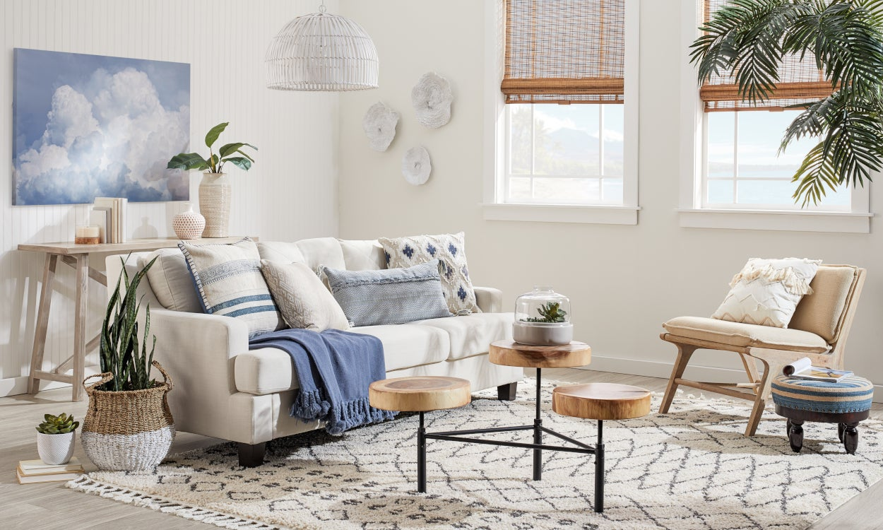 Style Mashup: Coastal and Bohemian Home Decor | Overstock.com
