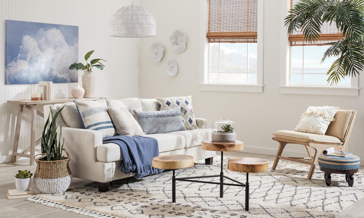How to Combine Coastal and Bohemian Home Decor