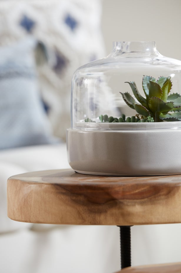 Mix in Greenery With Unique Planters