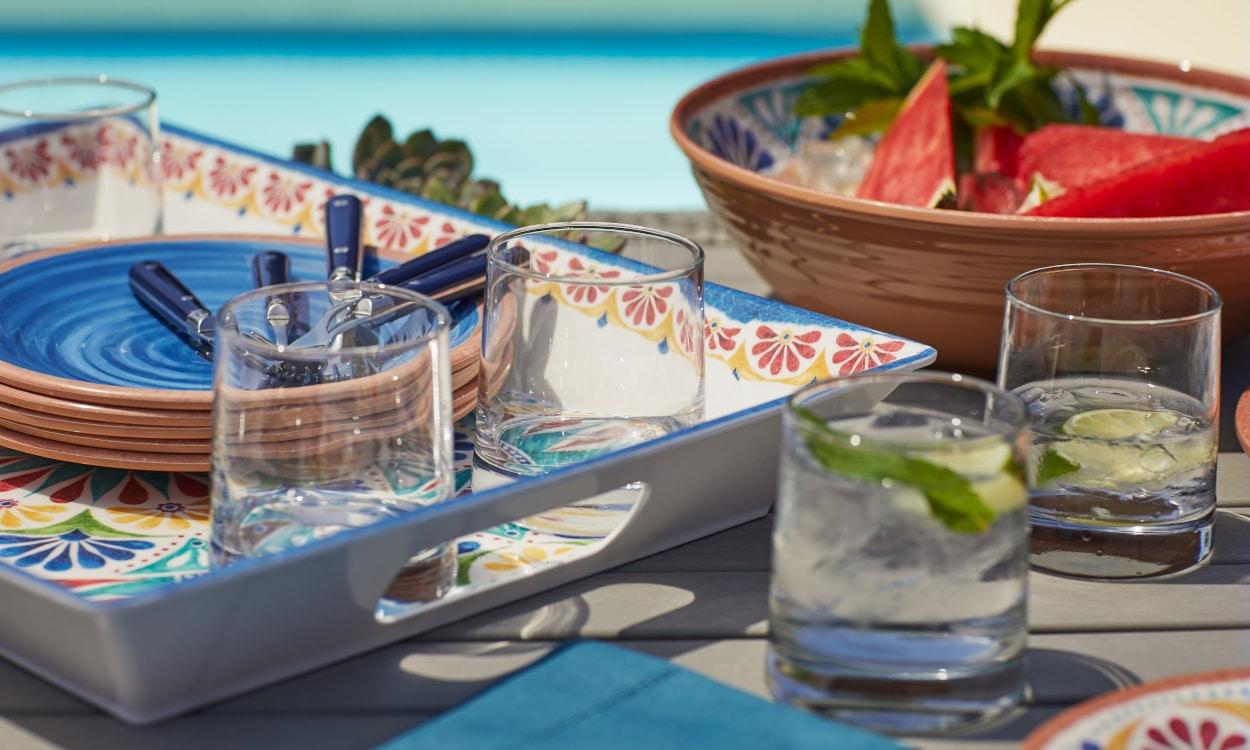 Outdoor cooking essentials serveware