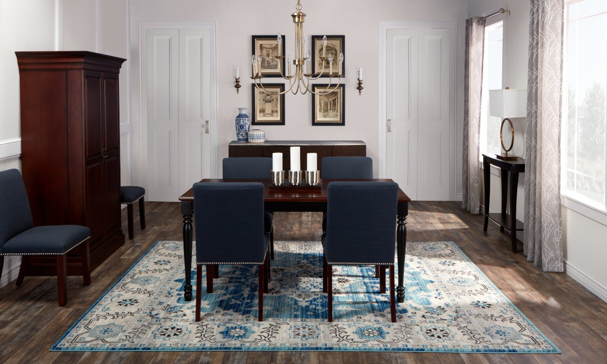 Traditional Rugs for Formal Dinner Affairs