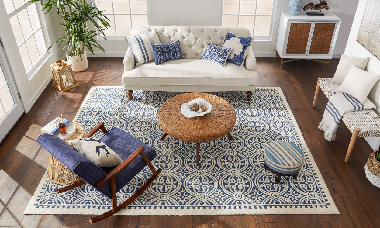Enliven Planks With a Pop of Pattern
