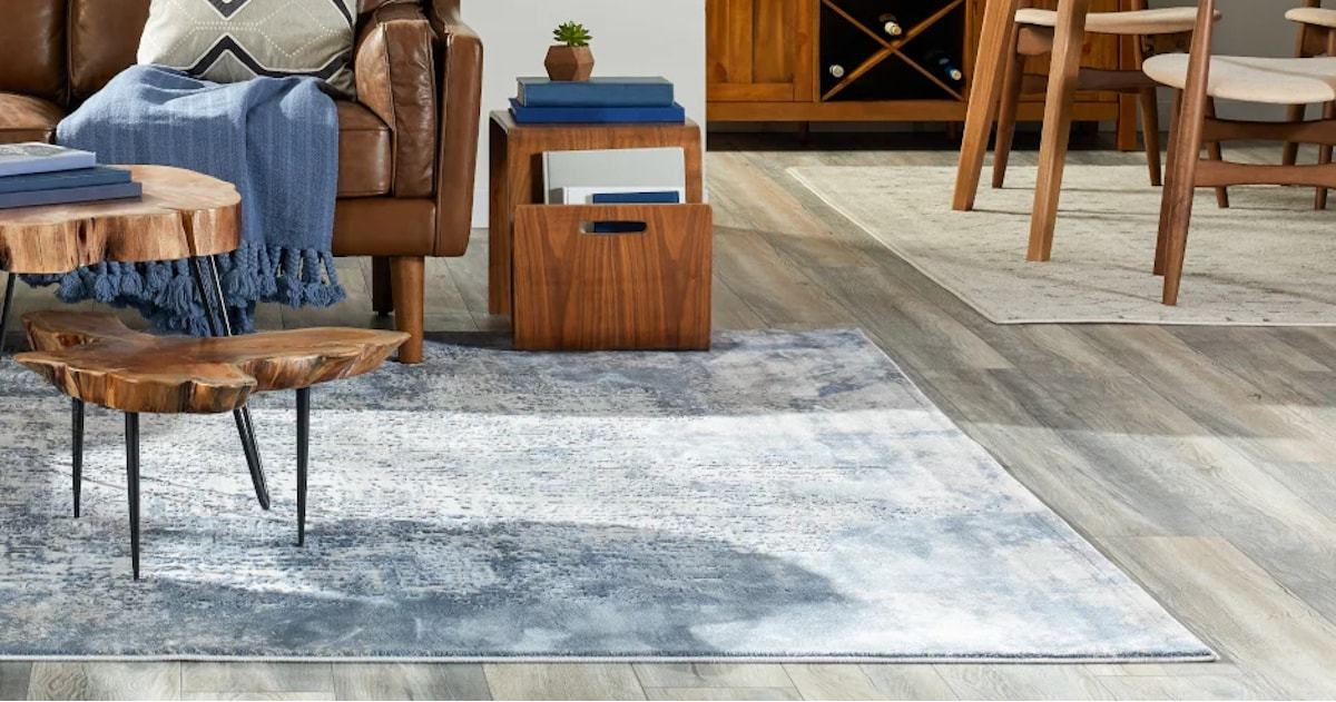 Area Rugs In An Open Floor Plan