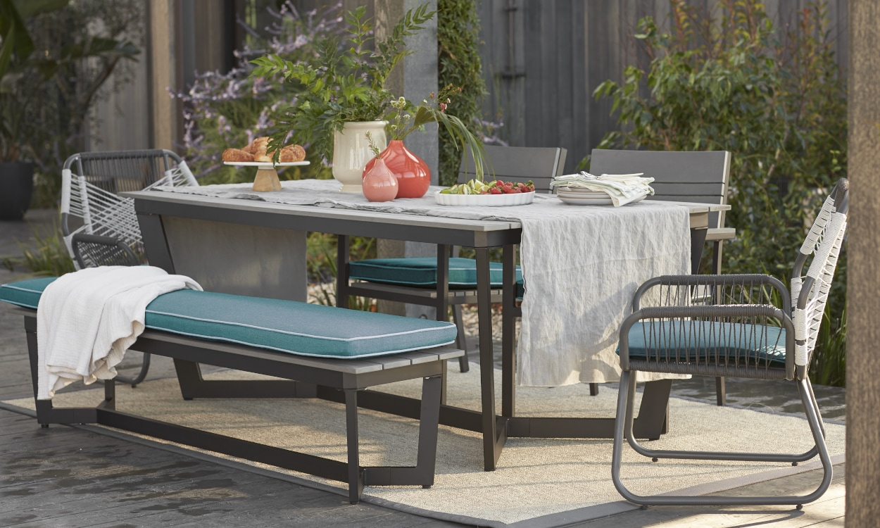 hero metal patio furniture