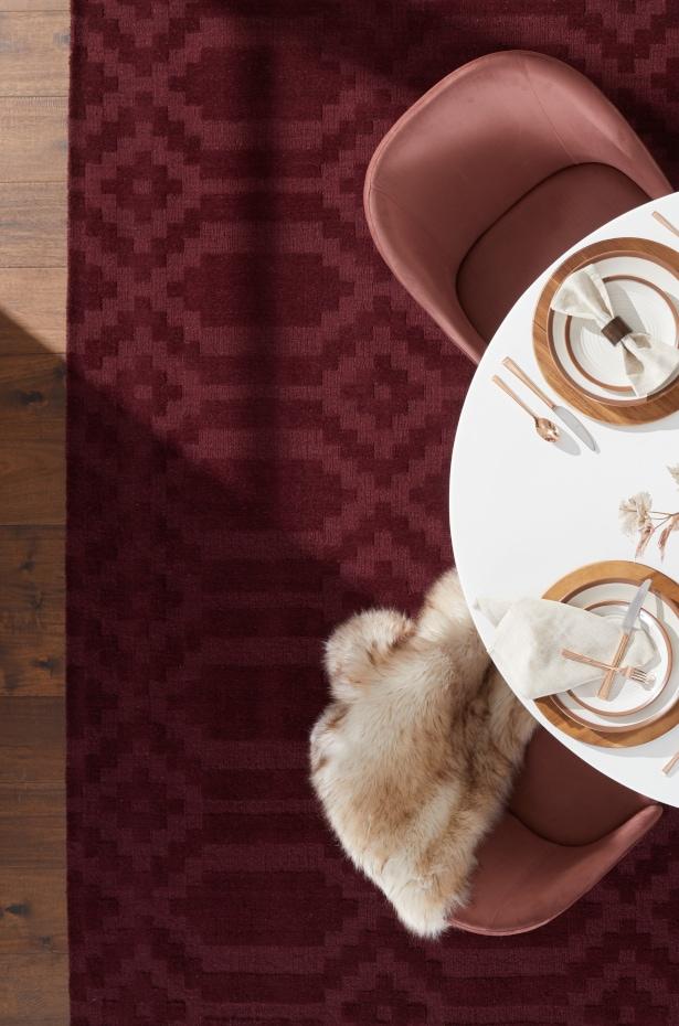 durable wool rug