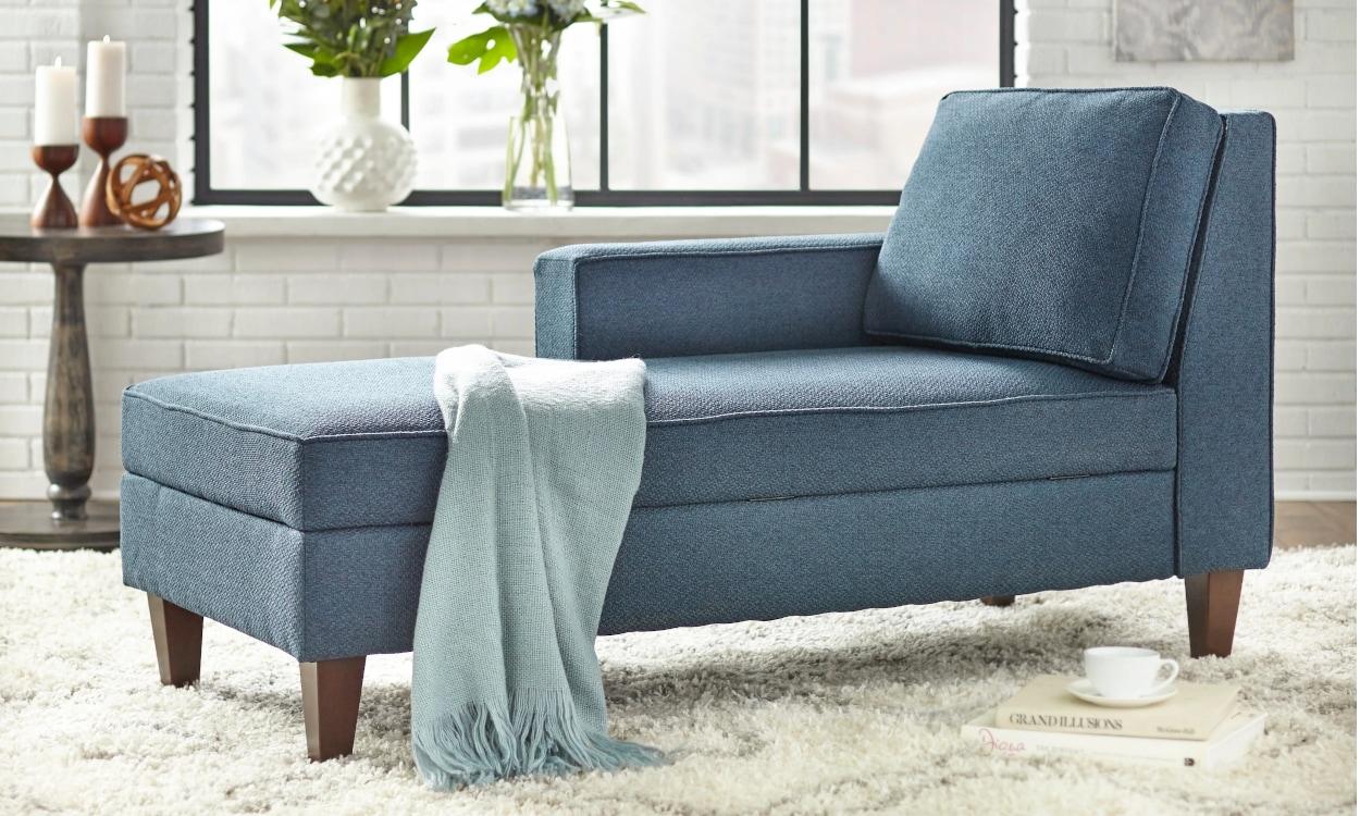 mid-century modern chaise lounge