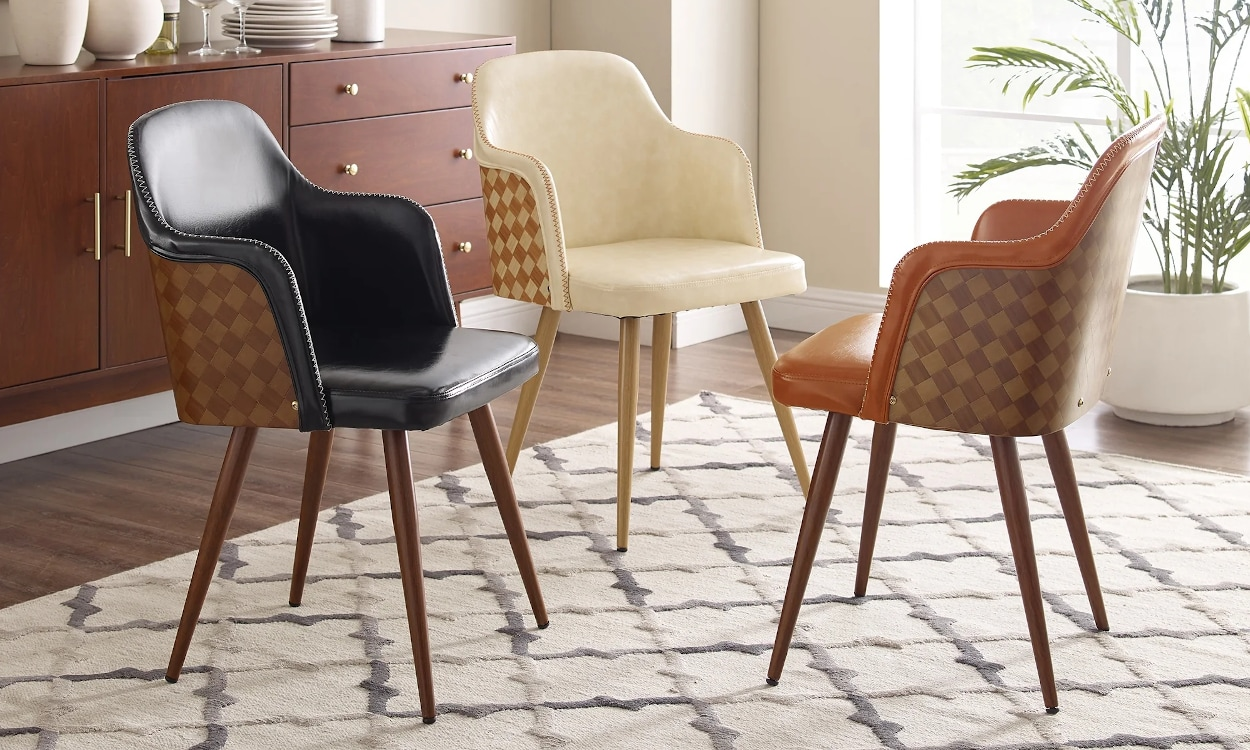 how to clean a faux leather chair