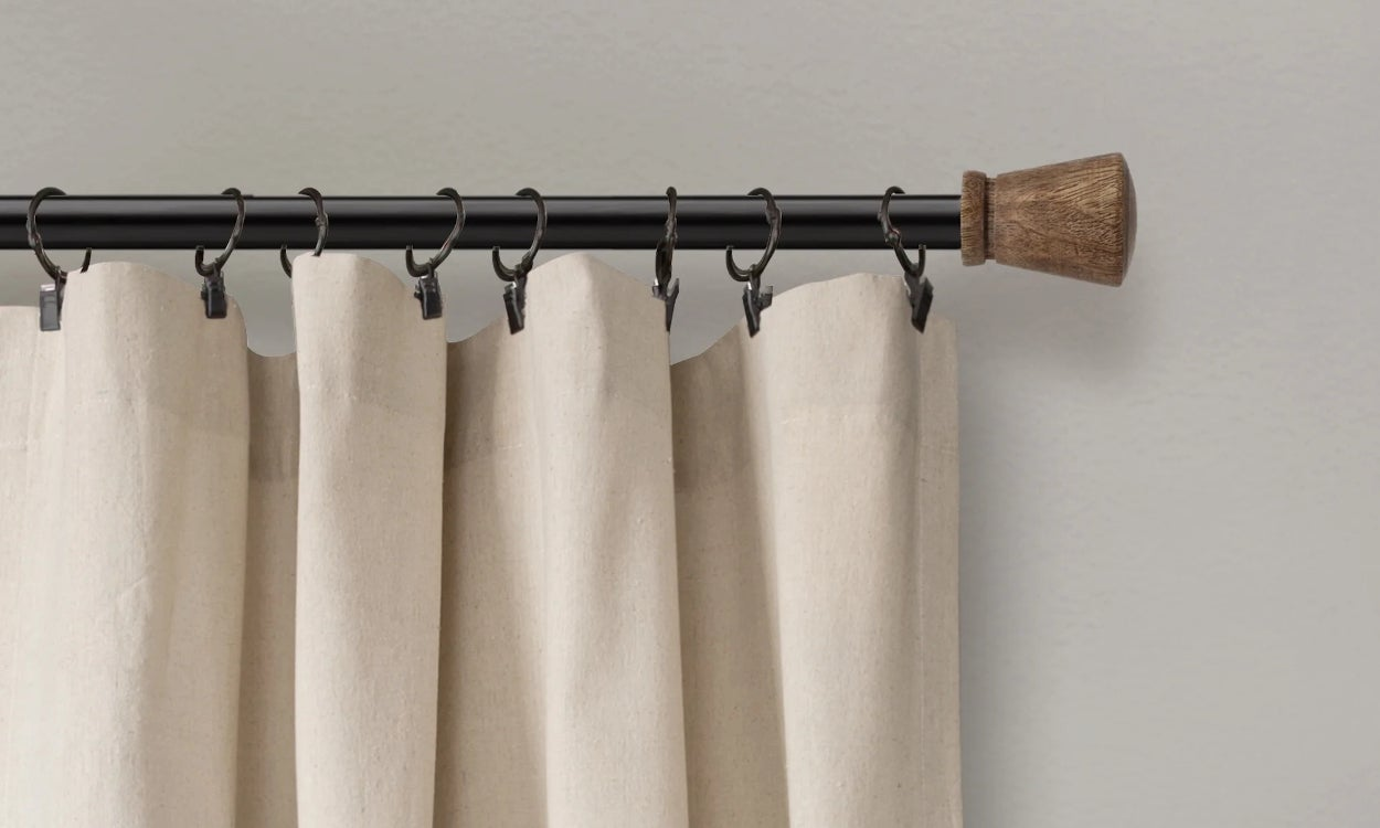 how to clean linen curtains