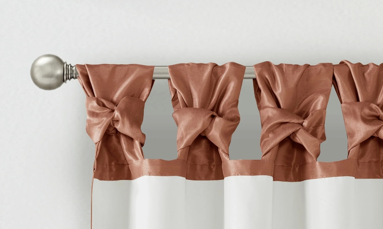 how to clean polyester curtains