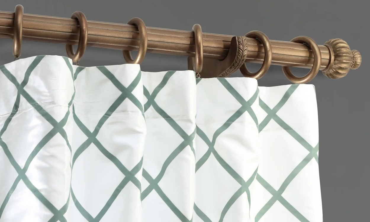 how to clean silk curtains